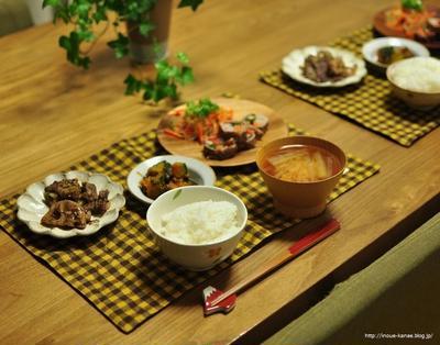 ≪レシピ≫かぼちゃの小豆バター煮と豚肉とタマネギのソースケチャップ煮、それから体温計に触ることを禁じられた件
