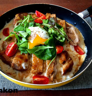 【簡単!!】フライパン1つで!カリカリチーズの照り焼きチキンドリアと、ダ・ヴィンチニュース