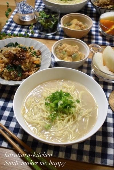 【レシピ】子供たちのイチオシ✳︎炊飯器deビビンバ風炊き込みご飯✳︎簡単✳︎試合3日前高糖質食晩ごはん。