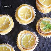 【焼くまで10分】爽やかレモンのベイクドチーズケーキ