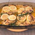 レモンとセージがほんのり香る、驚くほど柔らかい鶏もも肉のベイク