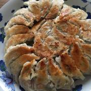 豚肉と白菜の餃子+常備菜