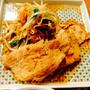 豚ロース肉香味焼きの夕食