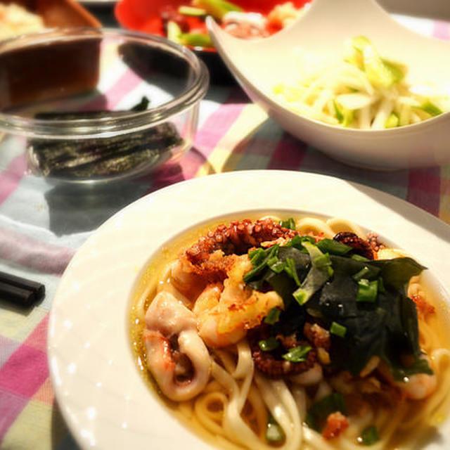 野菜の中華イタ飯と、ジャガイモときゅうりのサラダパスタ〜アトピーケアレシピ〜