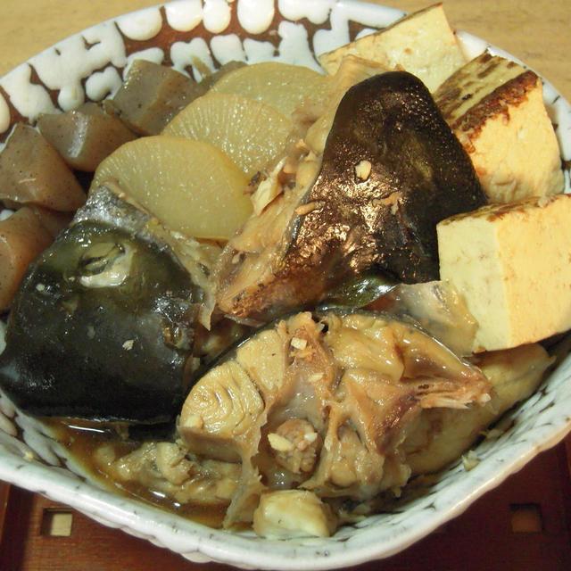ヒラソのアラ炊き