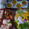 花椒塩の鶏ハムのせサラダ