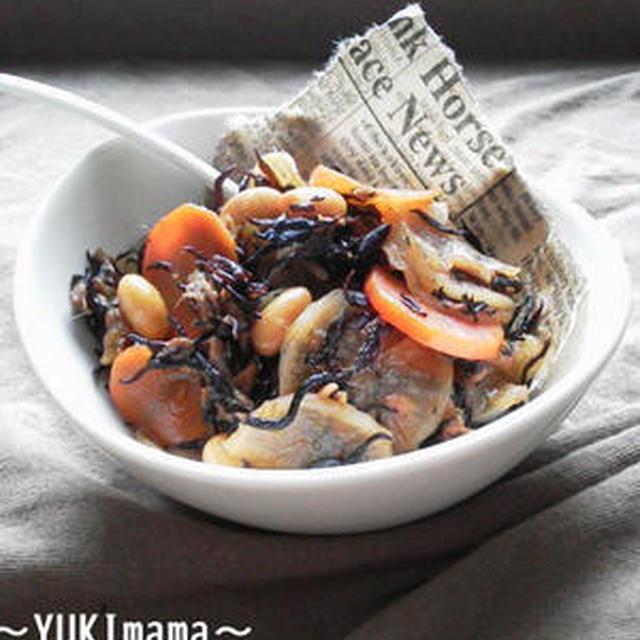 レシピブログくらしのアンテナ〜ツナと大根のほっこりひじき煮(作りおき常備菜)〜