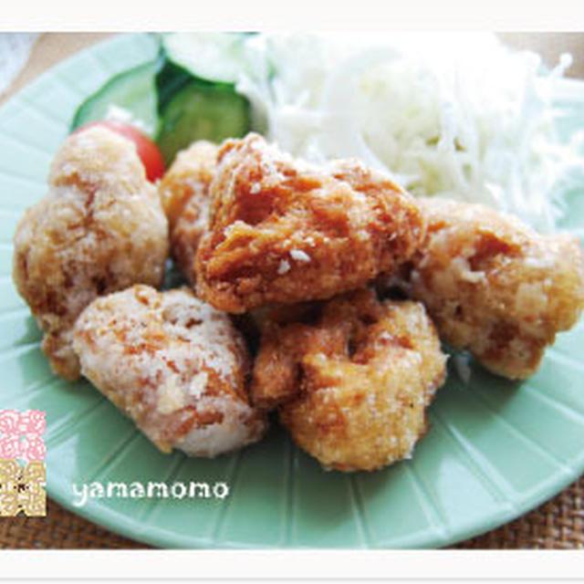 大豆唐揚げのマクロビ定食