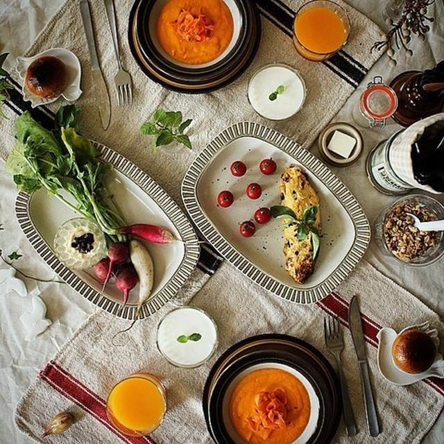 Today's Breakfast Table-September 29, 2014-