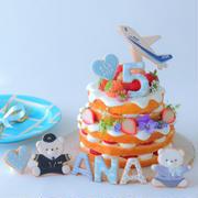 ANAさんのアニバーサリーケーキを作らせていただきました。