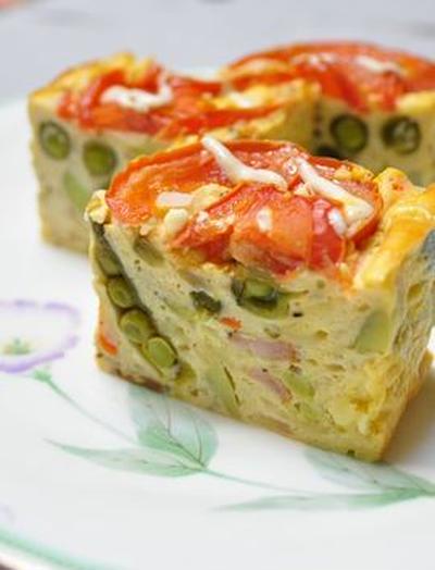 豆腐でしっとり*ケークサレ