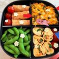 ピクニック弁当☆うちの定番かぼちゃサラダ