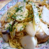 冬野菜のペペロンチーニのレシピ