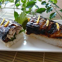 塩さばで焼きさば寿司