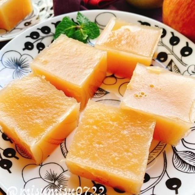お砂糖なし【りんご寒天】(動画レシピ)/Non-sugar Apple Agar.
