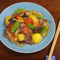 霜降りひらたけとトマトのとろけるほどに美味しい肉じゃがの作り方のコツ by KOICHIさん