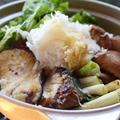 365日汁物レシピNo.57「ぶりのみぞれ鍋」