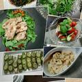 新鮮お野菜たっぷりの夜ごはん♪