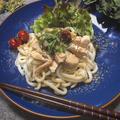 男性料理教室☆2019.6鶏むね肉蒸し♬梅肉冷やしうどん