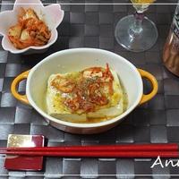 ☆豆腐のキムチチーズ焼き☆