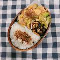 牛肉のケチャップ炒め弁当と回鍋肉弁当(回鍋肉のレシピあり)