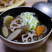 根菜たっぷりの味噌汁