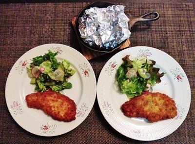 野菜がうまうまブロッコリーとカリフラワーのホイルチーズ焼き♪