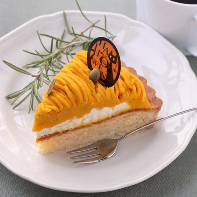 ★お菓子レシピ★ ハロウィンに!かぼちゃタルト