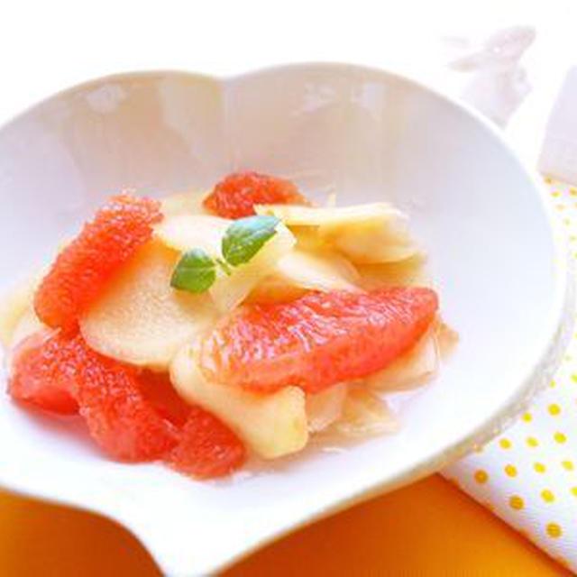 グレープフルーツ 砂糖 漬け