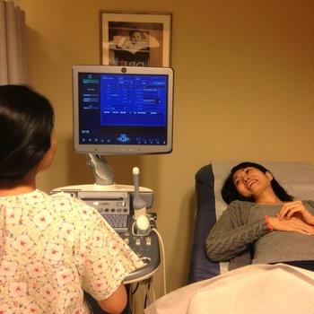 妊娠13週、4DでHelloちゃんにご対面♪
