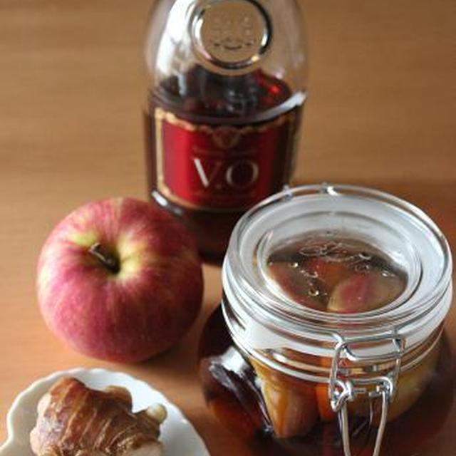 りんごと生姜のフルーツブランデー