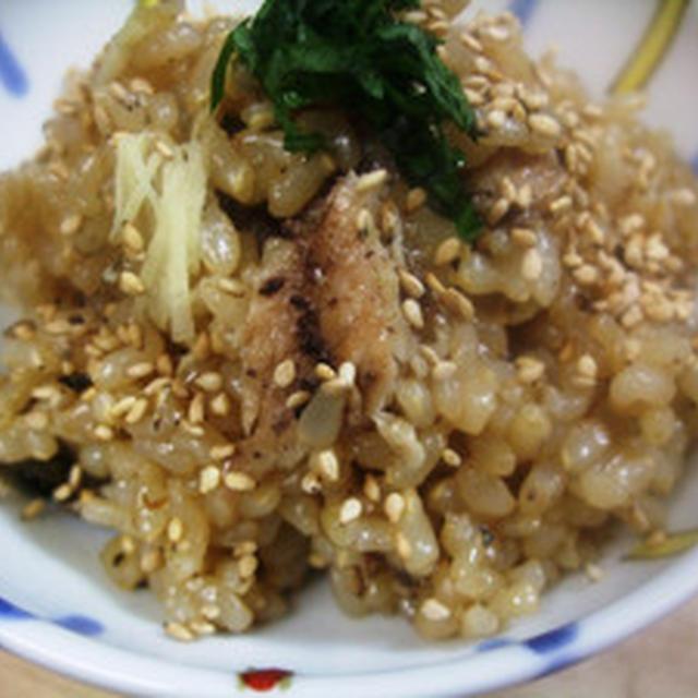 玄米サンマご飯