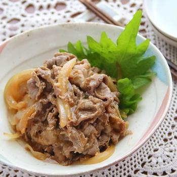 牛肉の味噌煮(←市販のたれ活用で超時短ですみません…)|大好きなブロガーさんのお話