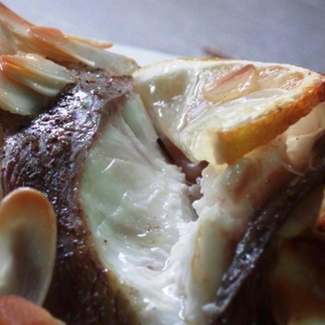 鯛のレモン焼き:本格ベスーゴ・アル・オルノを小さな鯛で一人分
