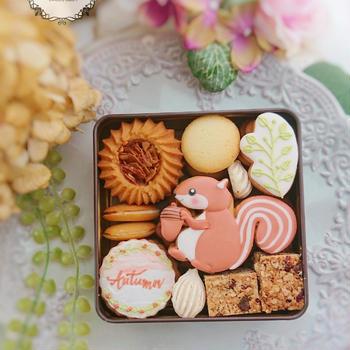 【募集】秋のクッキー缶レッスン2021