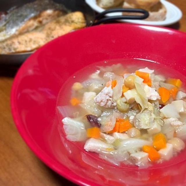 ☆圧力鍋で作る野菜たっぷりスープ
