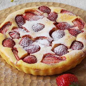 いちごがおいしい季節に♪生クリームなしで作れる「いちごのヨーグルトチーズケーキ」