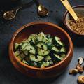 きゅうり消費!|きゅうりとミント、ナッツのシンプルサラダ