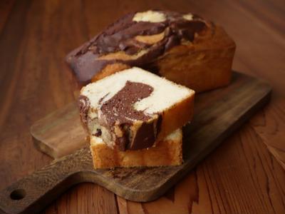 マーブルケーキを上手に焼くコツ公開!基本レシピで今日は何混ぜよう?