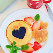 シンプルバニラパンケーキ