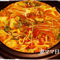 坦々鍋&『通販・渡り蟹キムチケジャン』♪
