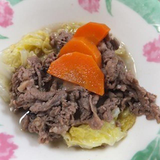 牛肉と白菜のクローブ煮