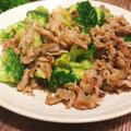 豚こま肉とブロッコリーのめんマヨ炒め #麺つゆ #めんつゆ  #マヨネーズ #弁当