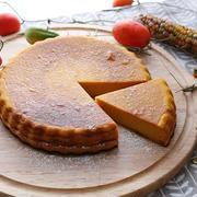 ハロウィンに作ろう!かぼちゃたっぷりベイクドチーズケーキ