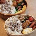 グリルフライパンで簡単時短お弁当 by いちごさん