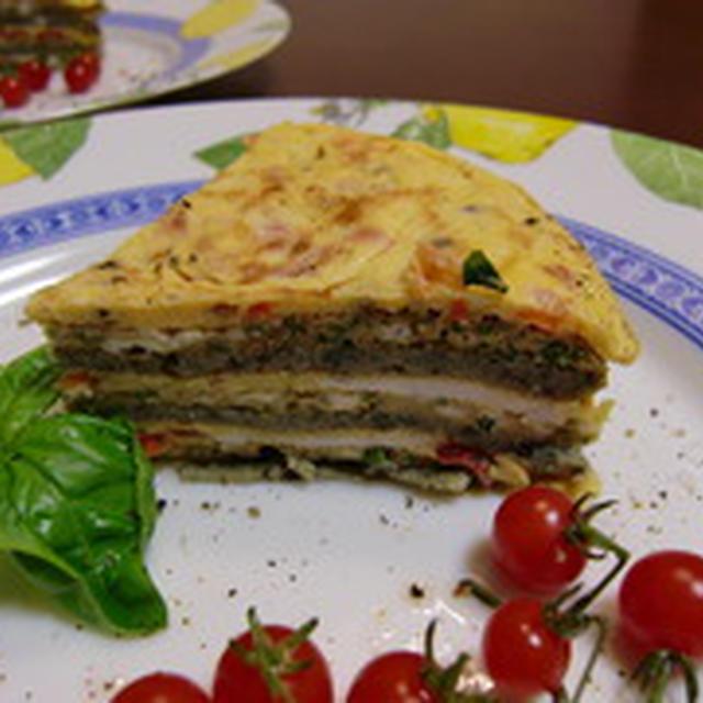 ケーキ・オムレツの作り方。 前菜(おつまみ)のレシピ