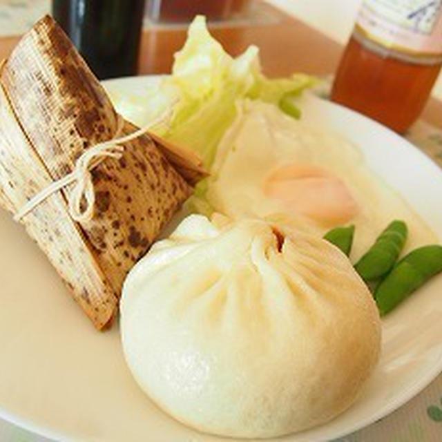 ■メニュー■鶏ハム、茸のスンチャンサムジャンご飯、納豆、タラモサラダ、麩の酢味噌和*6月11日