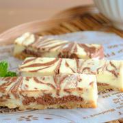 チョコ マーブル スティックチーズケーキ ☆