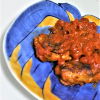 味付けいわし缶詰で「いわしのトマト煮」