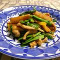 豚肉と長芋のXO醤炒め